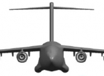 Narrower at the waist and leaner in fuel burn than the C-17A, Boeing's propos...