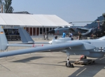 On show last month at ILA in Berlin is one of the Luftwaffe's IAI Malat Heron...
