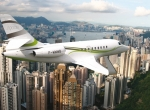 Dassault unveiled the lower-cost Falcon 2000S, which has inboard slats for be...