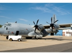 This VMGR-352 KC-130J is the first to be fitted with the Harvest Hawk system....