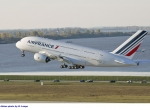 The A380 production line is moving more efficiently following earlier problems