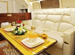 Saudi Arabia's Alsalam Aircraft showcased its large-cabin completion