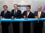 Bombardier Sets Up Shop in China, Mideast