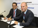 Boeing Embraer partnership signing
