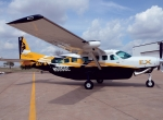 The $2.4 million Grand Caravan EX upgrades the venerable workhorse with an 867-shp PT6 and adds Garmin G1000 avionics and a Hartzell propeller with slightly rounded edges.