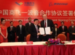 Boeing, Comac Contract Signing