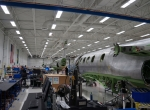 Embraer Phenom 100/300 production line in Melbourne, Florida