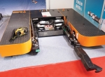 One person can use Mototok's wirelessly controlled tug to park aircraft efficiently.