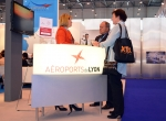 Lyon Bron airport stand at EBACE 2012