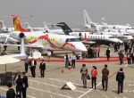 Organizers of ABACE 2013, to be held at Hongqiao International Airport and hosted by the Shanghai Hawker Pacific FBO, hope this year's tally will exceed the 156 exhibitors, 27 display aircraft and 6,375 visitors at the 2012 event. (Photo: David McIntosh)