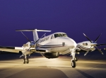 The King Air 350ER will serve as the platform for the low/medium-altitude air...