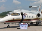 Last month's LIMA show in Malaysia featured an array of business aircraft, including a Bombardier Learjet 60, shown, and a Dassault Falcon 7X.