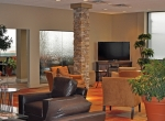 Atlantic's $1 million renovation of the Cleveland facility included a facelift for the FBO's interior.
