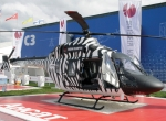 With its light twin Ansat certified (seen here at MAKS), Russian Helicopters has five helicopters in development.