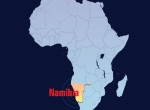 Map of Nambia