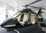 Quest Helicopter exhibited a full-size AVQ mockup at the Dubai 2011 airshow.