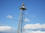 A remote tower system camera tower