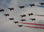 RIAT airshow formation