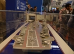 Aircraft carrier display model