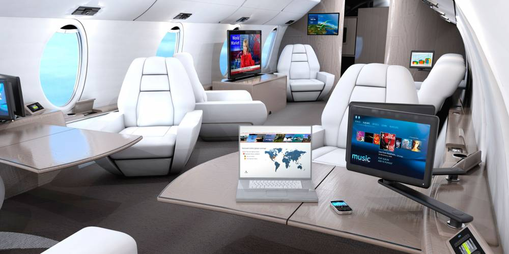 Rockwell Collins Showcases Cabin Technology