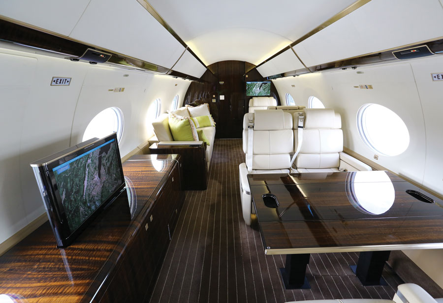 Gulfstream G650 S Wide Cabin Has Wider Appeal Business