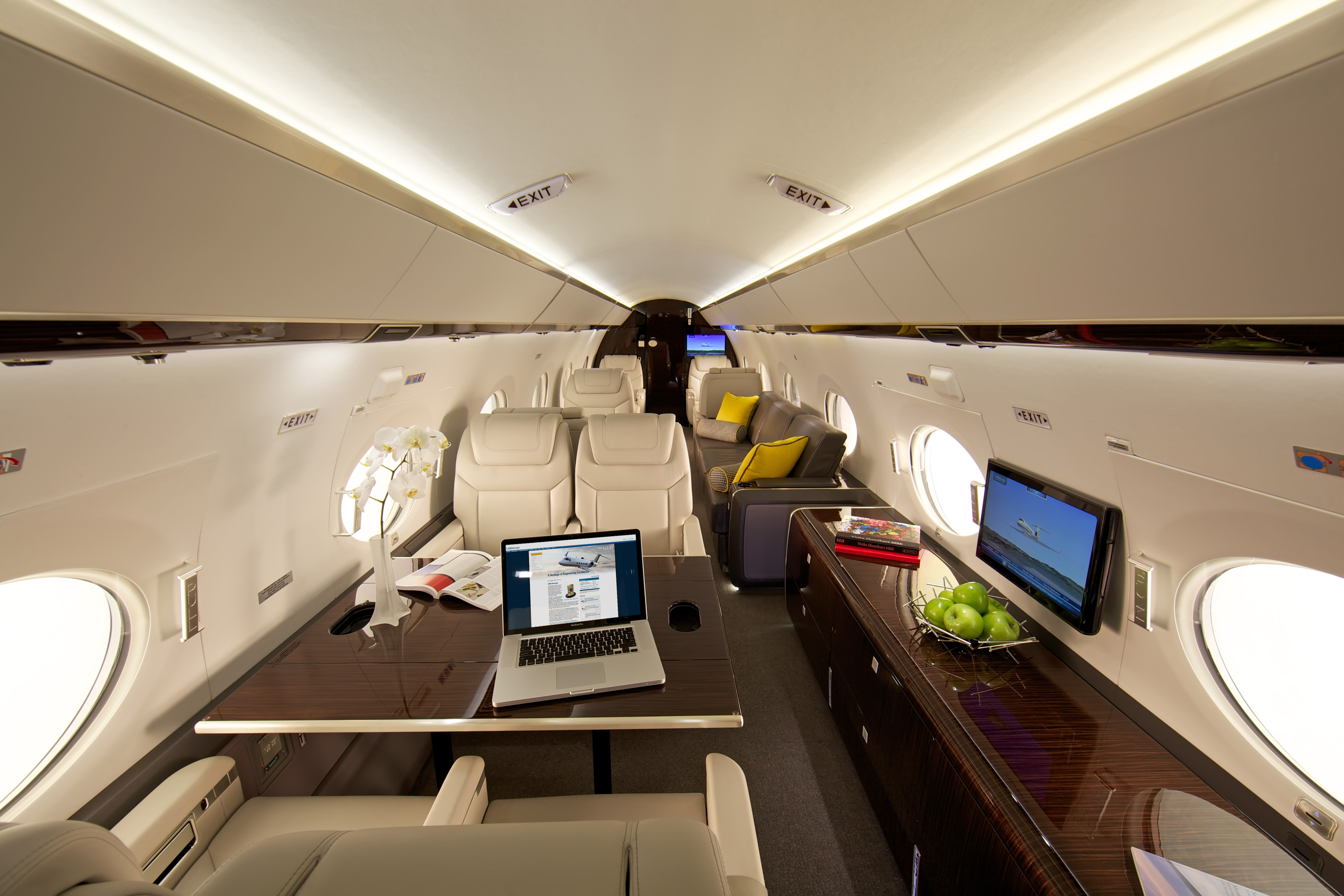 The G450 Elite Cabin Experience Business Aviation News
