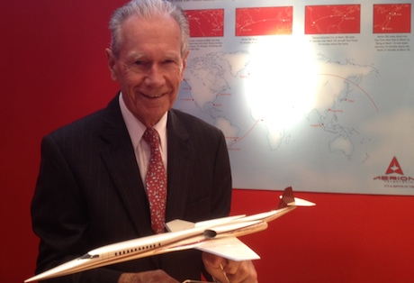 Aerion chief technology officer Dr. Richard Tracy