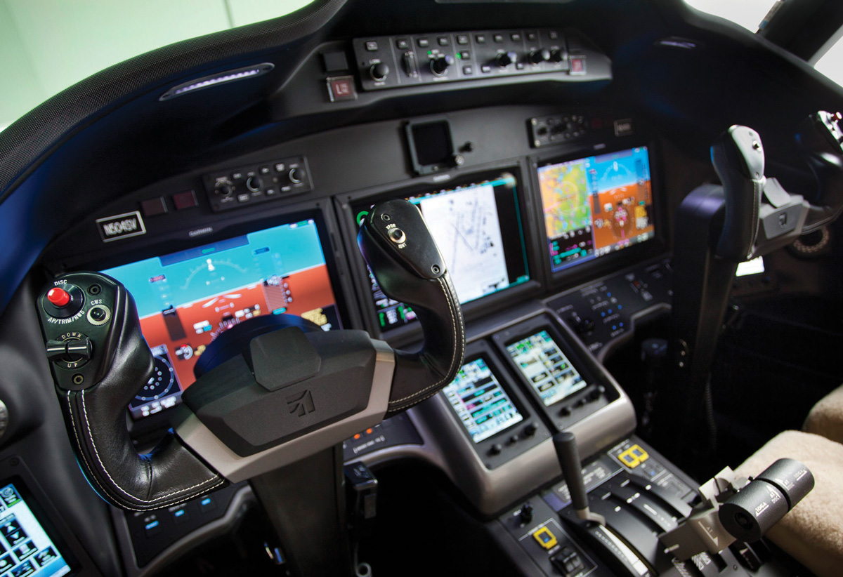 Changes Are Evident In Design Of New Cessna Sovereign Cabin And
