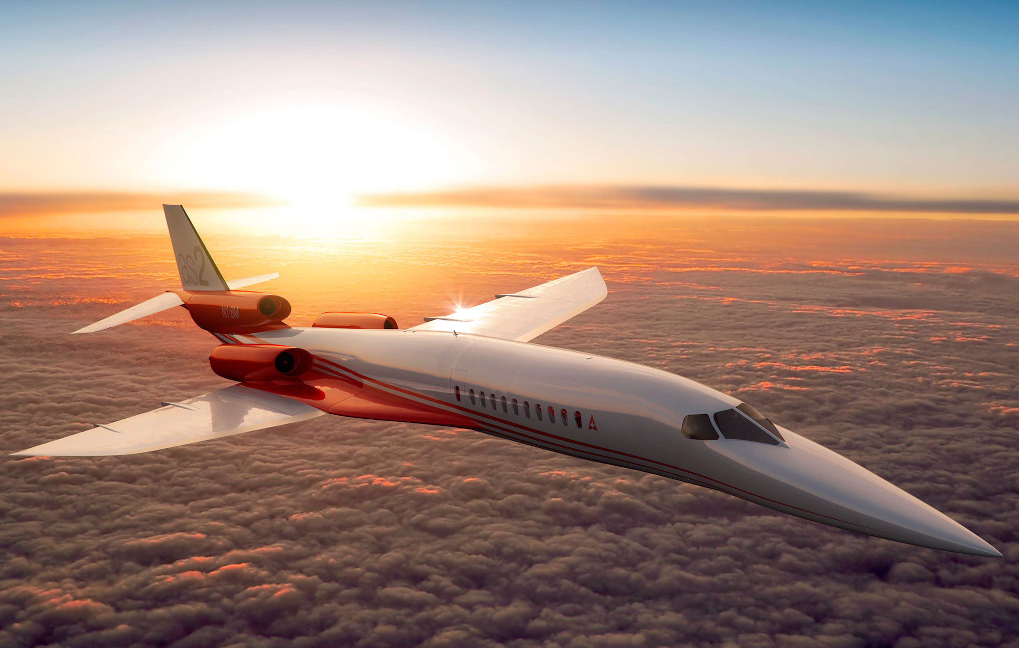 Aerion AS2 supersonic business jet priced at $120m and available 2022