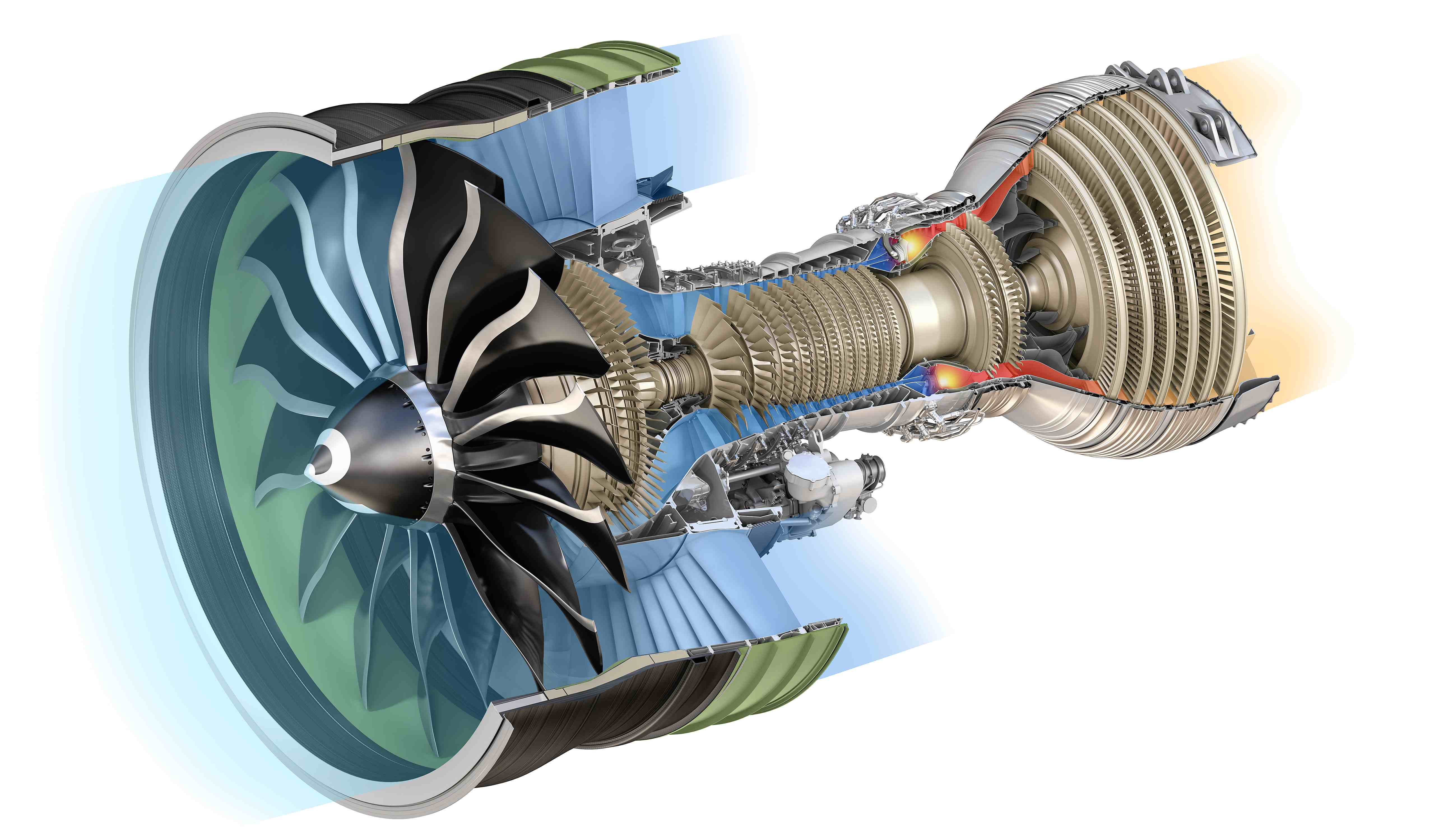 Jet Engine Fan Blades : Ge finalizes new composite for fan blades air
