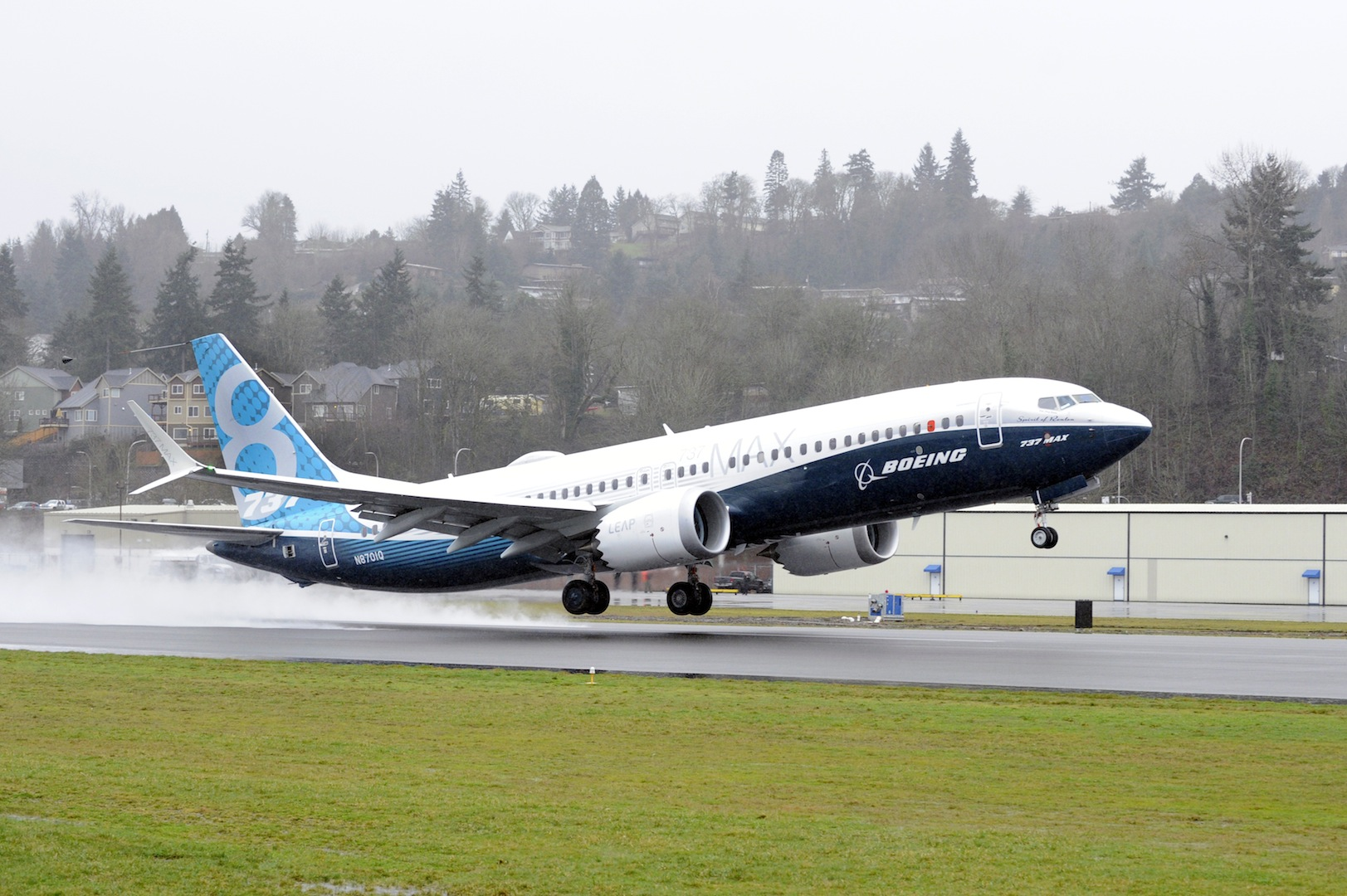 maxtakeoff Boeing 737 Max Completes First Flight