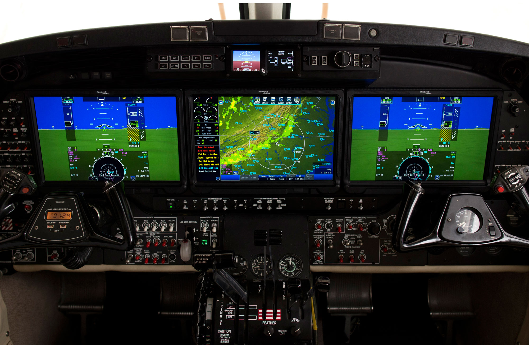Pro Line Fusion for King Air 350