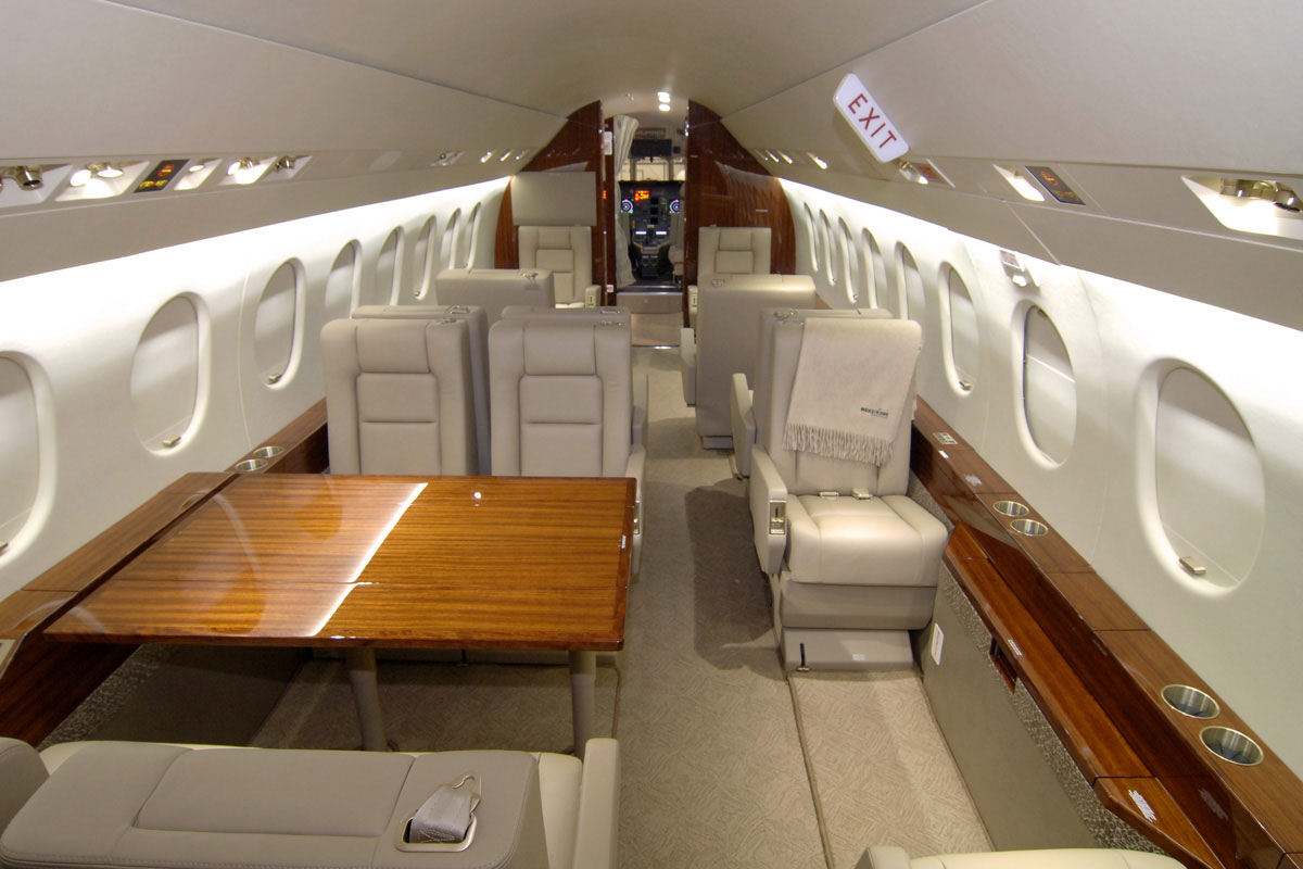 West Star Makes Room In Falcon 2000 Business Aviation