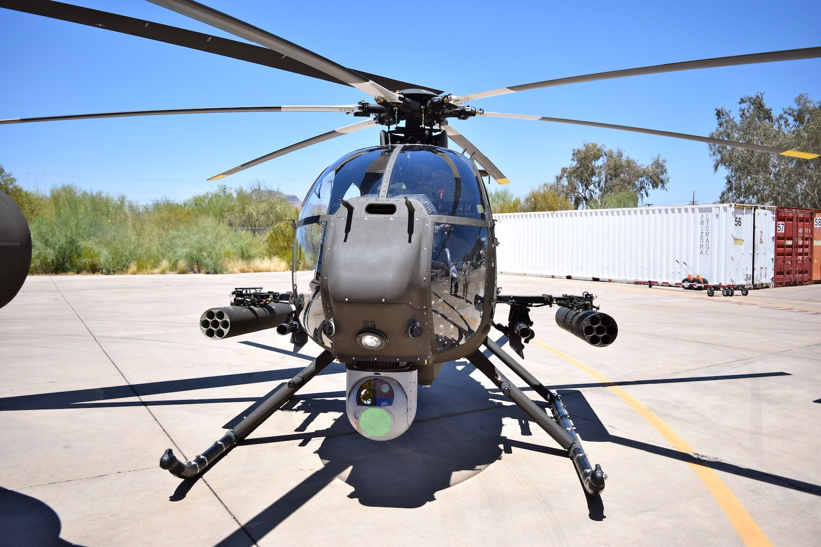 Boeing Readies First Ah 6i For Delivery To Saudi Arabia