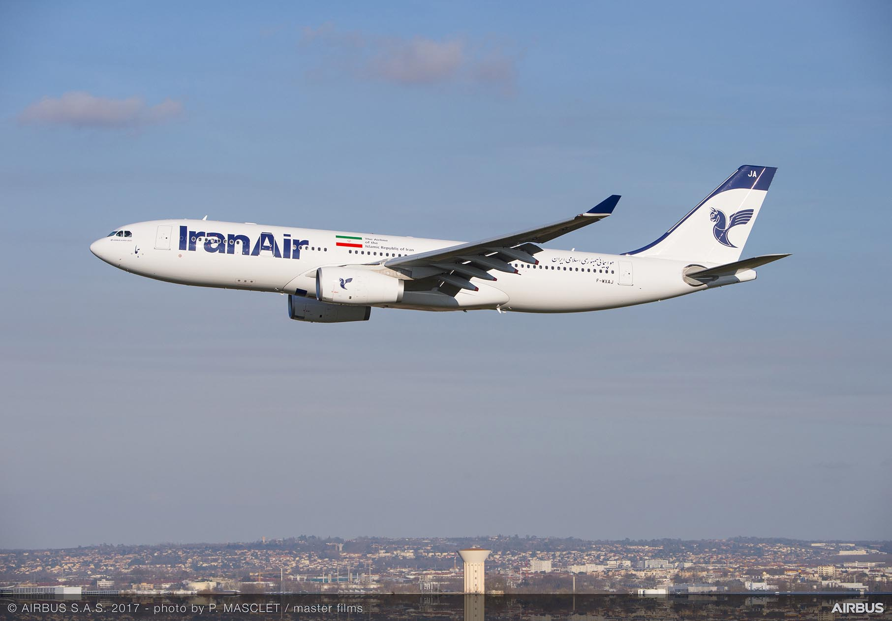 Airbus delivers second plane to Iran Air