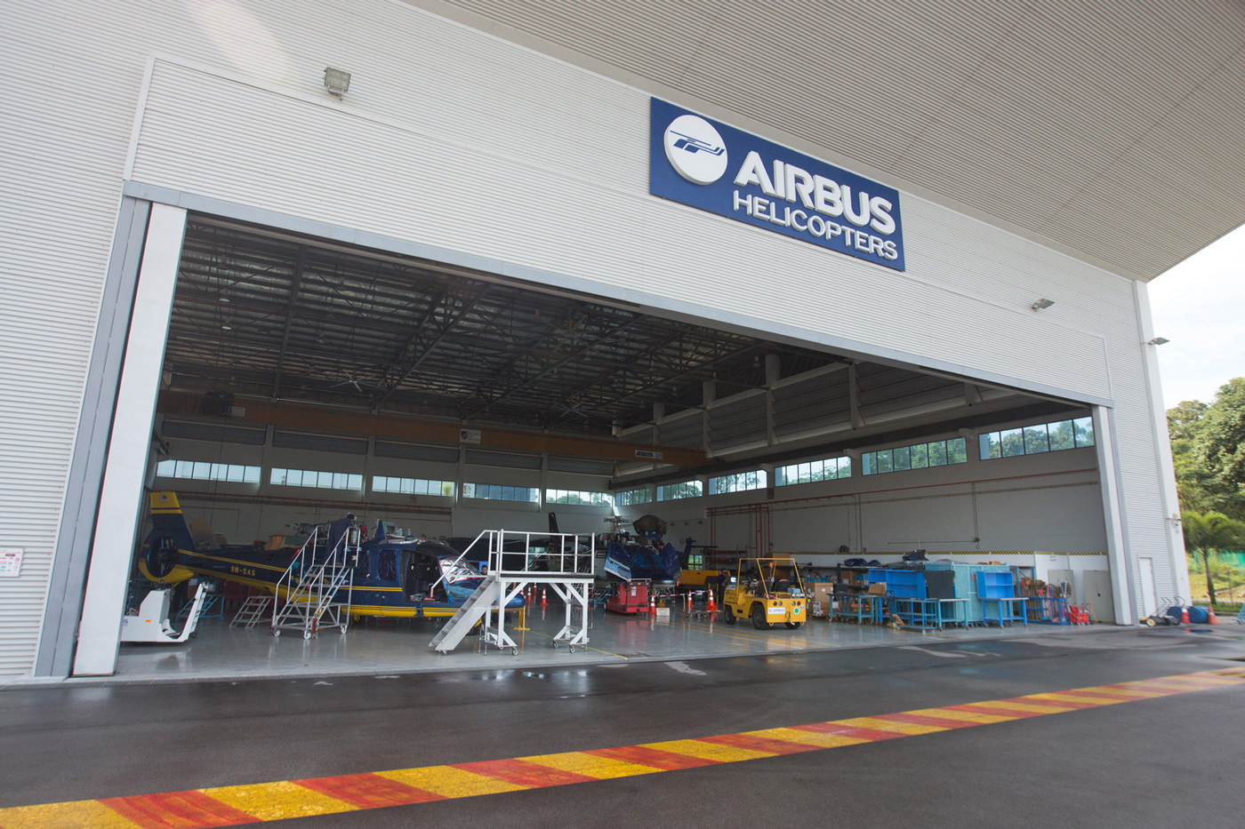 Airbus Helicopters Boosts Singapore Center, Logs Orders